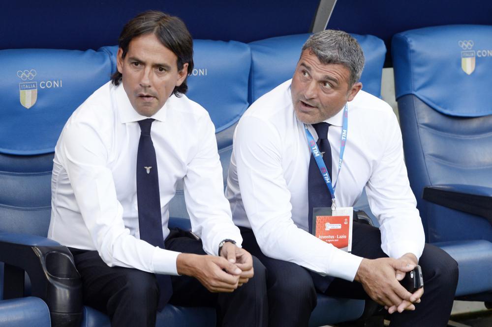 Simone Inzaghi and Angelo Peruzzi, Source- TUTTOmercatoWEB.com
