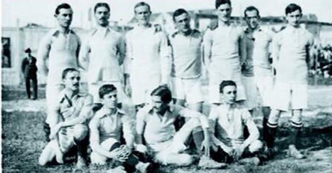Lazio Squad during the 1914/15 Season, Source- Mondo Udinese
