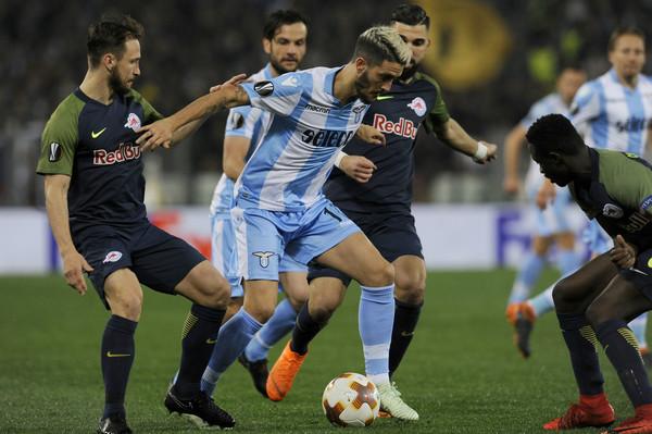 Lazio vs RB Salzburg, Source- Zimbio