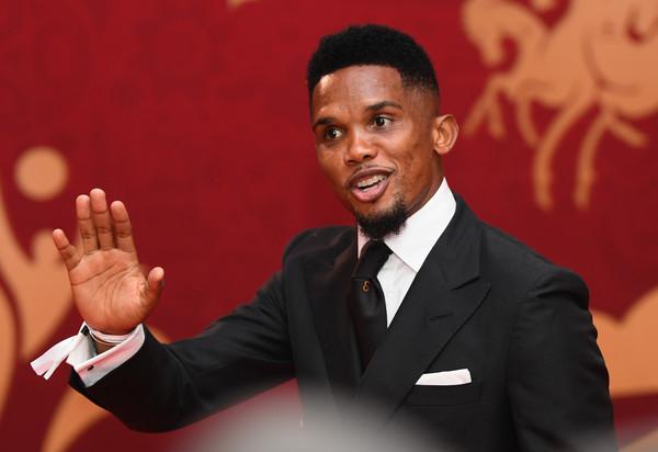 Samuel Eto'o, Source- Zimbio