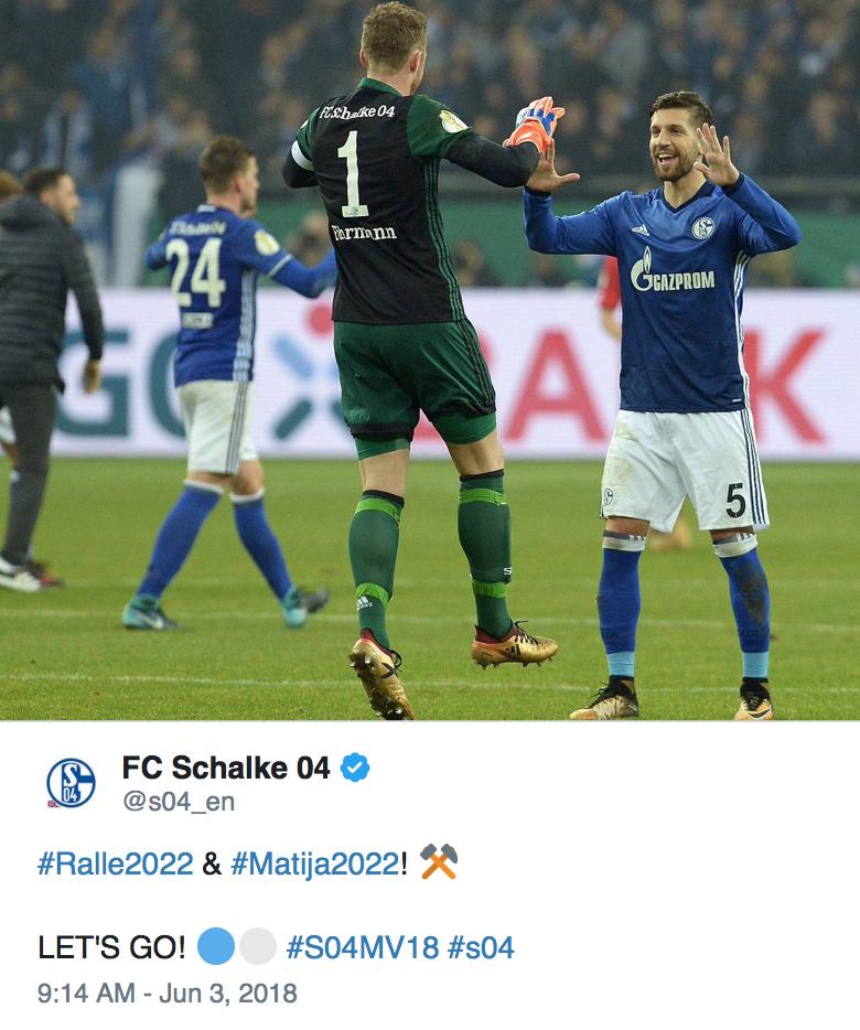 Schalke FC Twitter