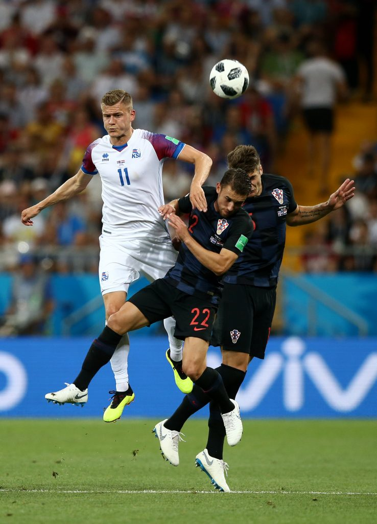 Iceland v Croatia: Group D - 2018 FIFA World Cup Russia (Caleta-Car)