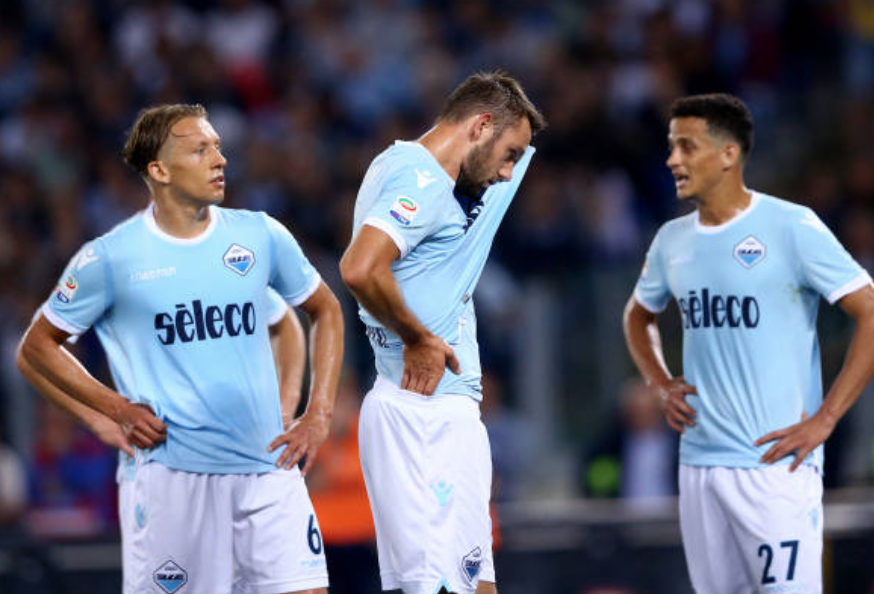 Lucas Leiva, Stefan de Vrij & Luiz Felipe After the 3-2 Loss to Inter in 2017/18
