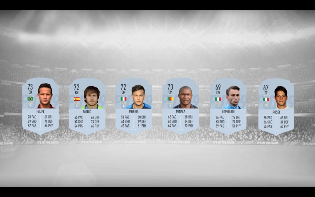 Lazio Silver Players, Designed by Steven Moore