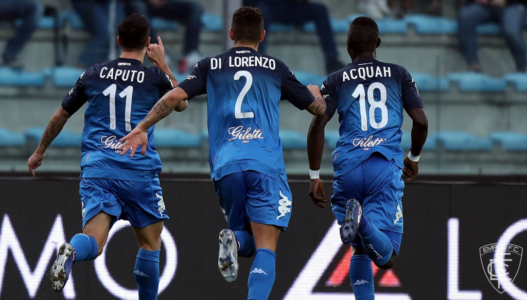 Empoli vs Udinese, Source- Official Empoli