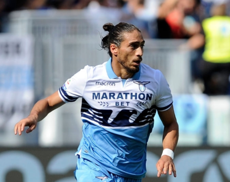 Martin Caceres, Source- Official S.S.Lazio