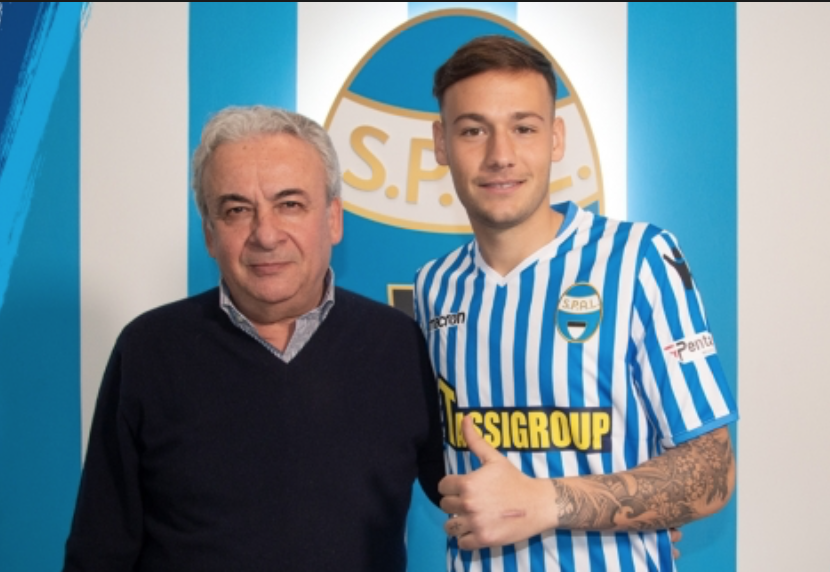 Alessandro Murgia, Source- SPAL Official Website