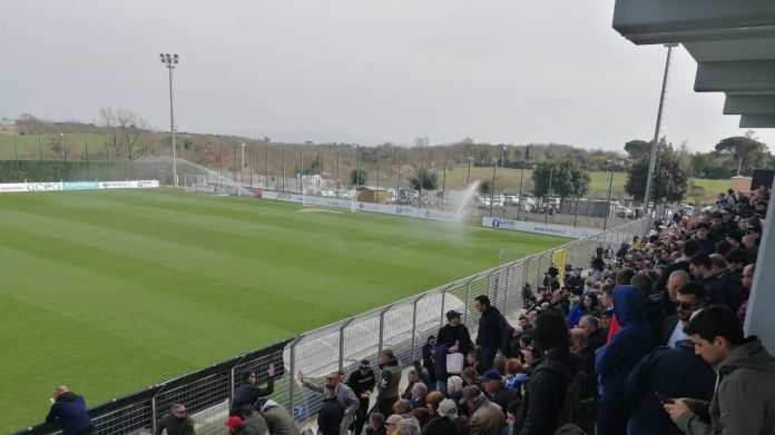 Lazio's open training at Formello -SportsNewsAgency