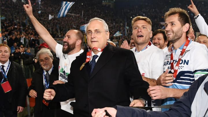 Claudio Lotito, Source- Getty Images