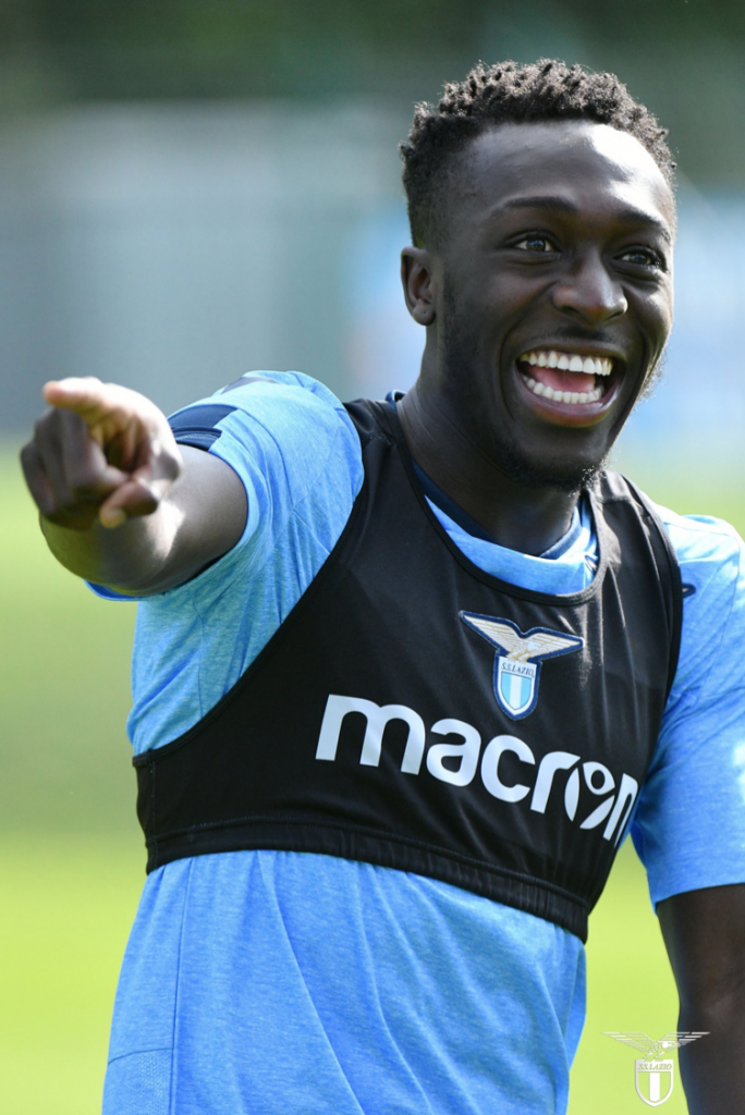 Bobby Adekanye, Source- Official S.S.Lazio