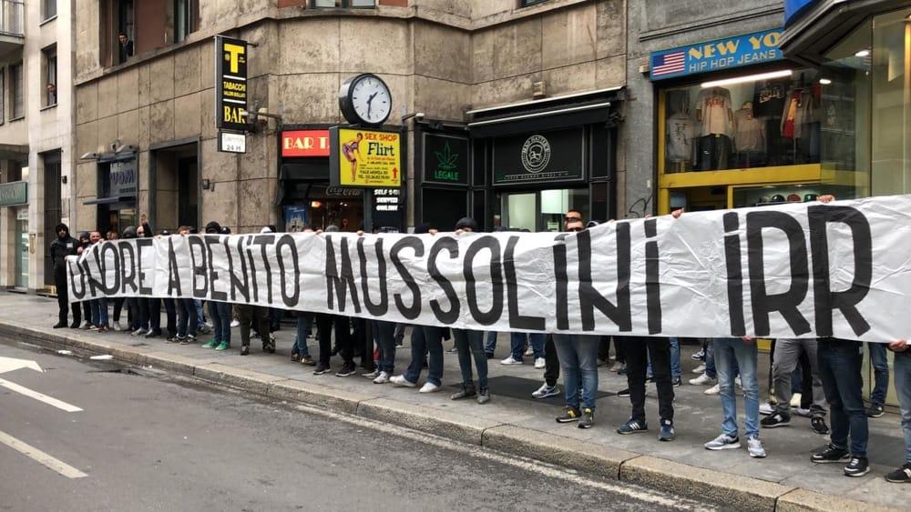 Onore A Benito Mussolini IRR, Source- MilanoToday