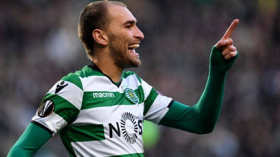 Sporting's Bas Dost / VoetbalZone