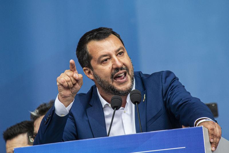 Matteo Salvini, Source- ChinaDaily