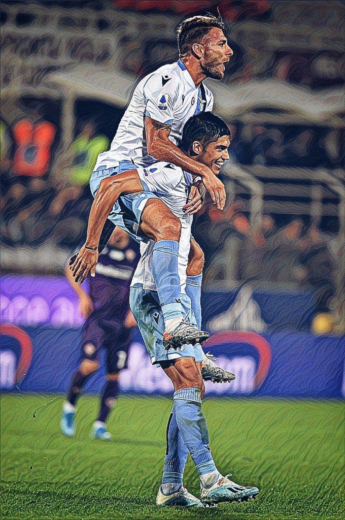 Ciro Immobile and Joaquin Correa, Source- @MattyLewis11