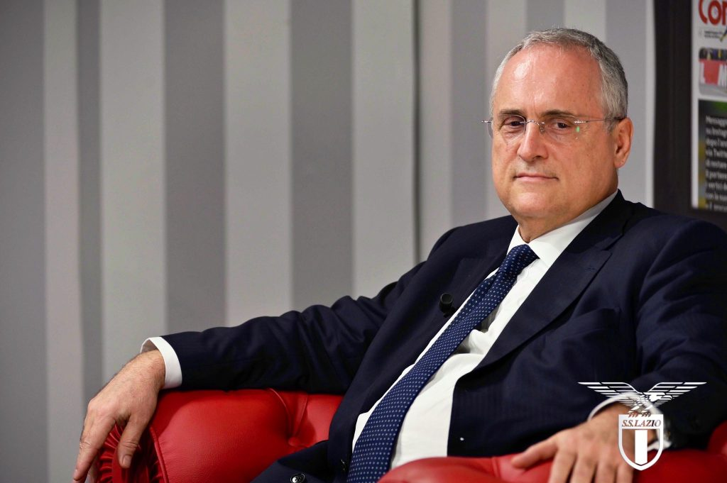 Claudio Lotito, Source: Official S.S.Lazio