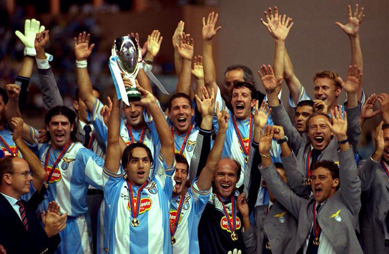 Lazio Scudetto Winners, Source- Soccer, football or whatever