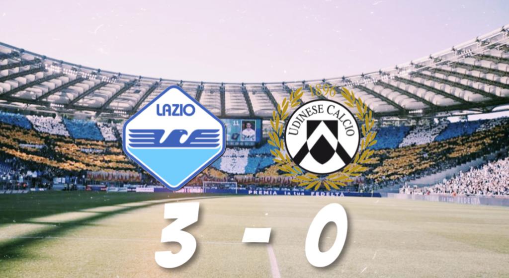 Lazio vs Udinese, Source- @MattyLewis11