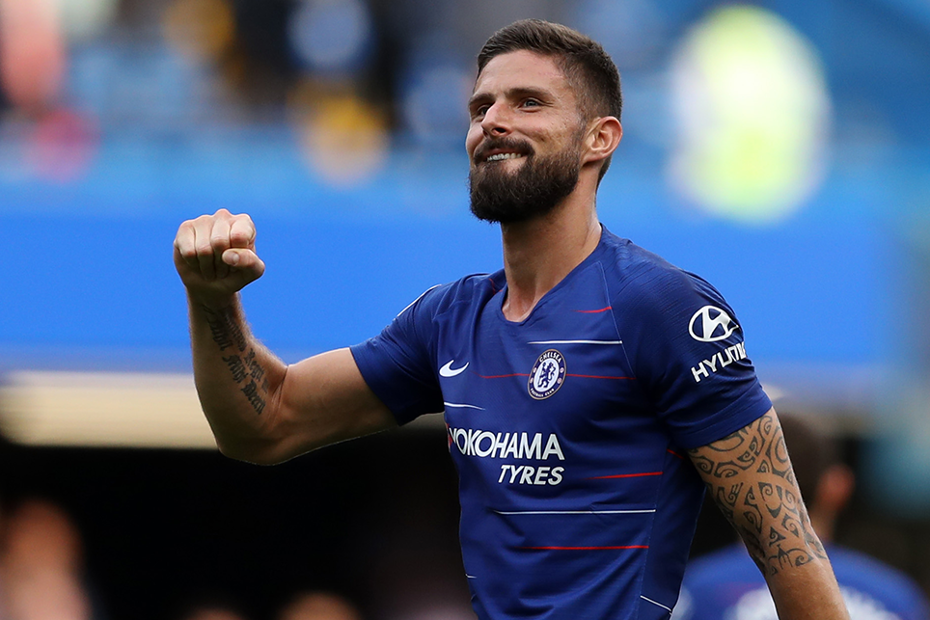 Olivier Giroud, Source- Premier League