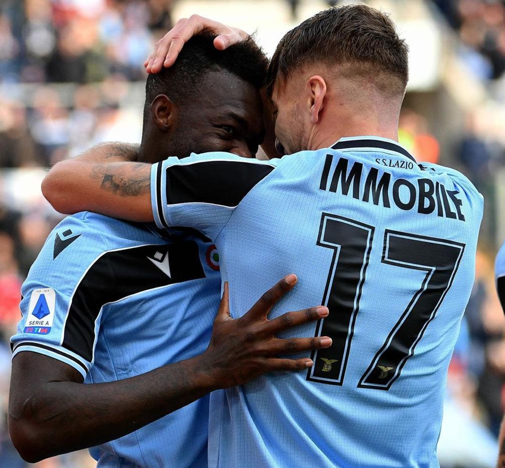 Ciro Immobile and Felipe Caicedo, Source- Official S.S.Lazio