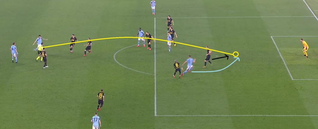 Luis Alberto's Perfect Ball Over Inter's Backline, Source - Premier Sports