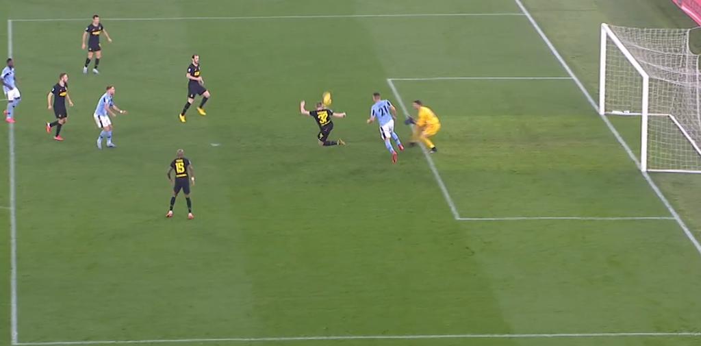 Lazio Forcing Errors Against Inter, Source - Premier Sports