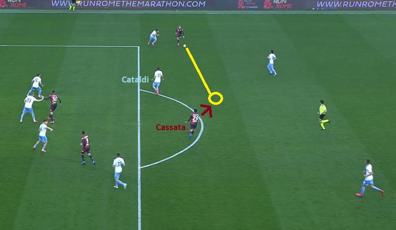 Cataldi Leaving Francesco Cassata Space, Source - Premier Sports