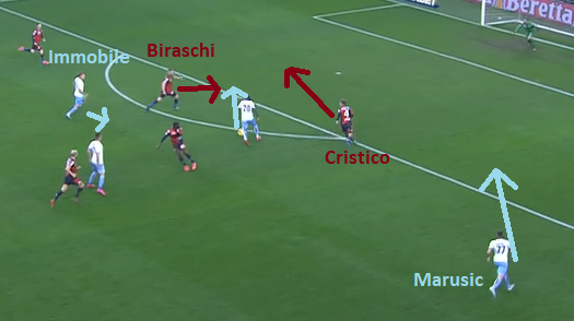 Caicedo's Run, Source - Premier Sports