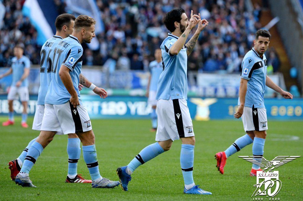 Luis Alberto, Ciro Immobile, Stefan Radu, & Jony, Source- Official S.S. Lazio