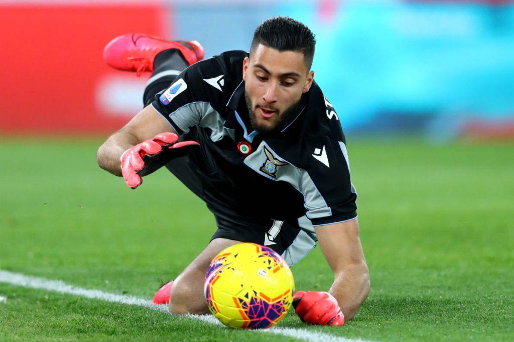 Thomas Strakosha, Source- Official S.S. Lazio