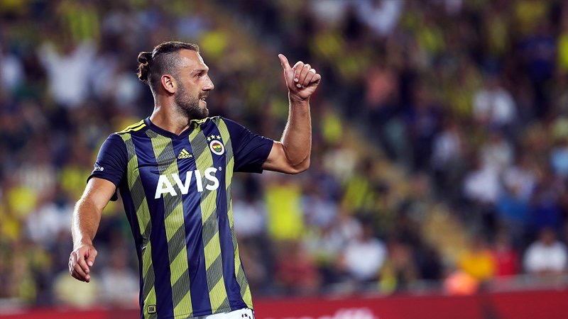 Vedat Muriqi Playing With Turkish Süper Lig Side Fenerbahçe S.K., Source- Getty Images