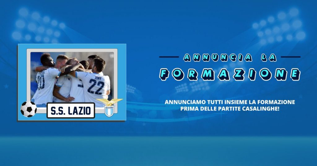 'Annuncia La Formazione', 'Announce the Starting Lineup'