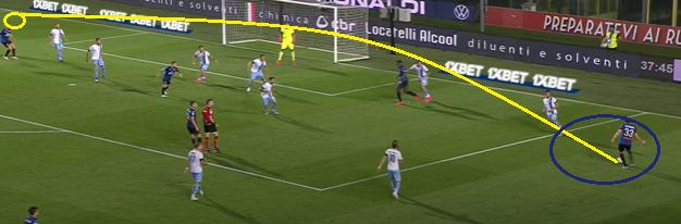 Atalanta Goal 1.3