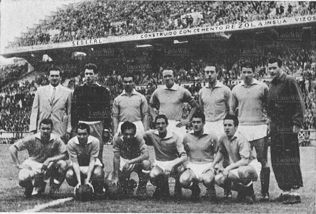 Lazio, 1950, Trofeo Teresa Herrera