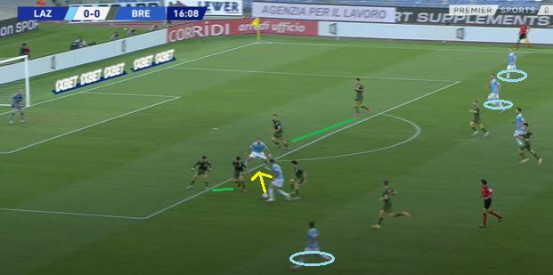 Lazio Goal 1.3, Source: Premier Sports