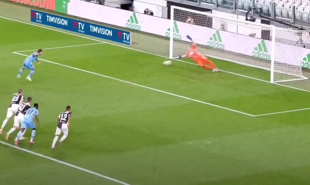 2019/20 Serie A, Matchday 34, Juventus vs Lazio: Ciro Immobile Scores