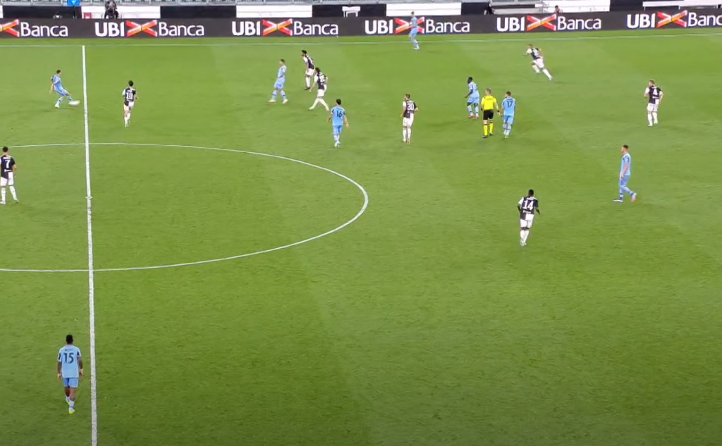 2019/20 Serie A, Matchday 34, Juventus vs Lazio: Luiz Felipe Pass to Francesco Acerbi