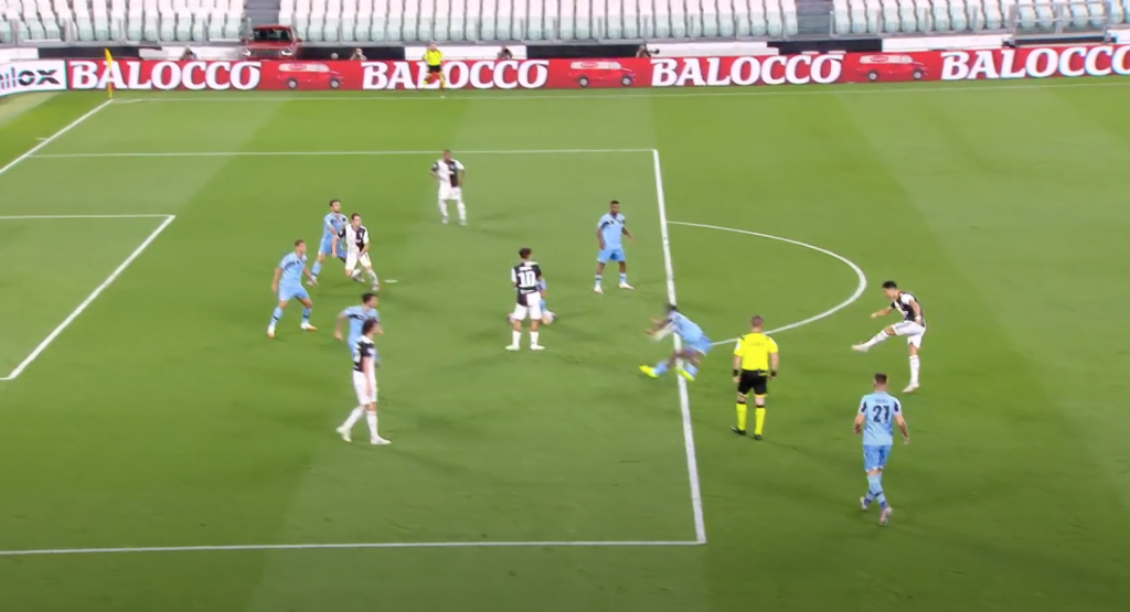 2019/20 Serie A, Matchday 34, Juventus vs Lazio: Bastos Handball