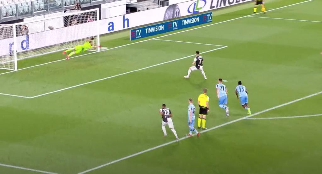 2019/20 Serie A, Matchday 34, Juventus vs Lazio: Cristiano Ronaldo Penalty Kick