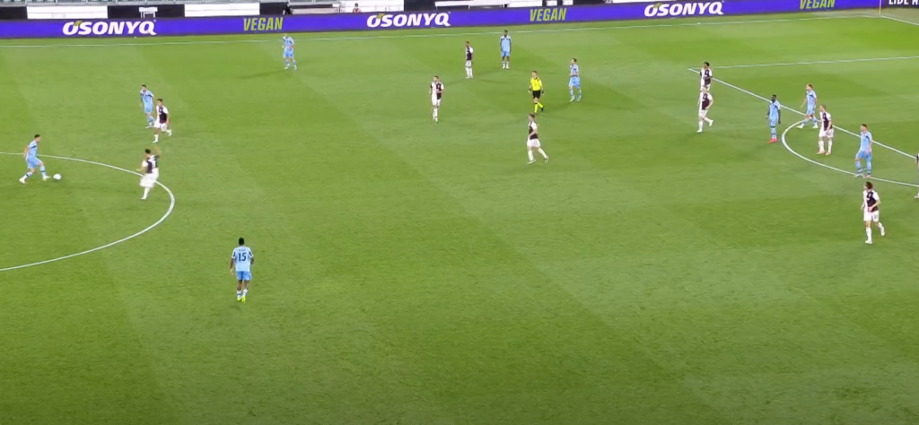 2019/20 Serie A, Matchday 34, Juventus vs Lazio: Luiz Felipe Receives a Pass From Danilo Cataldi