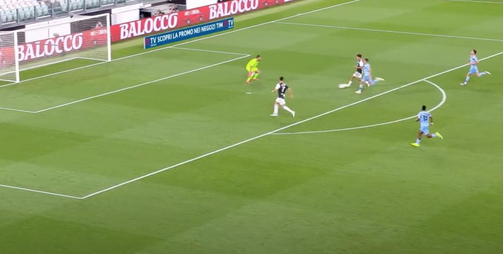 2019/20 Serie A, Matchday 34, Juventus vs Lazio: Paulo Dybala Passes to Cristiano Ronaldo