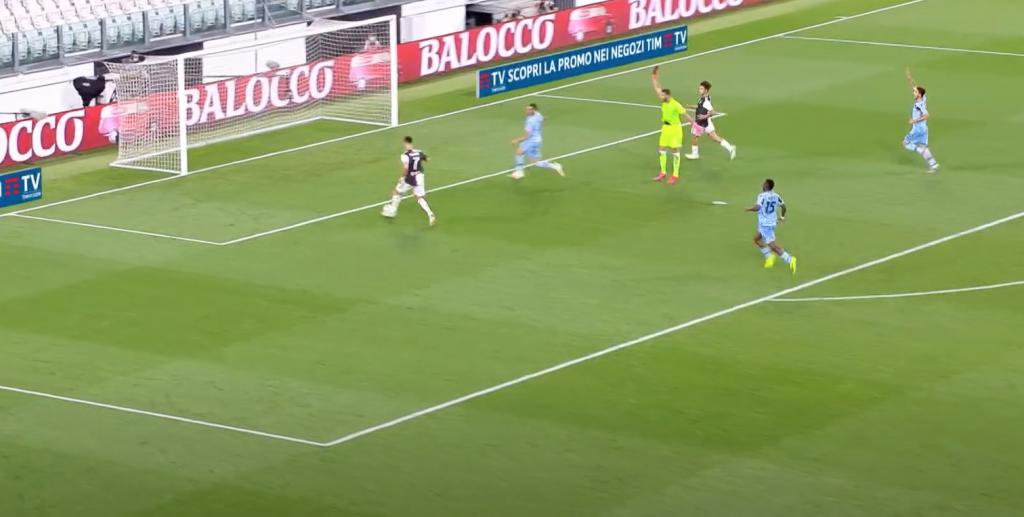 2019/20 Serie A, Matchday 34, Juventus vs Lazio: Cristiano Ronaldo Puts the Ball Into an Open Net