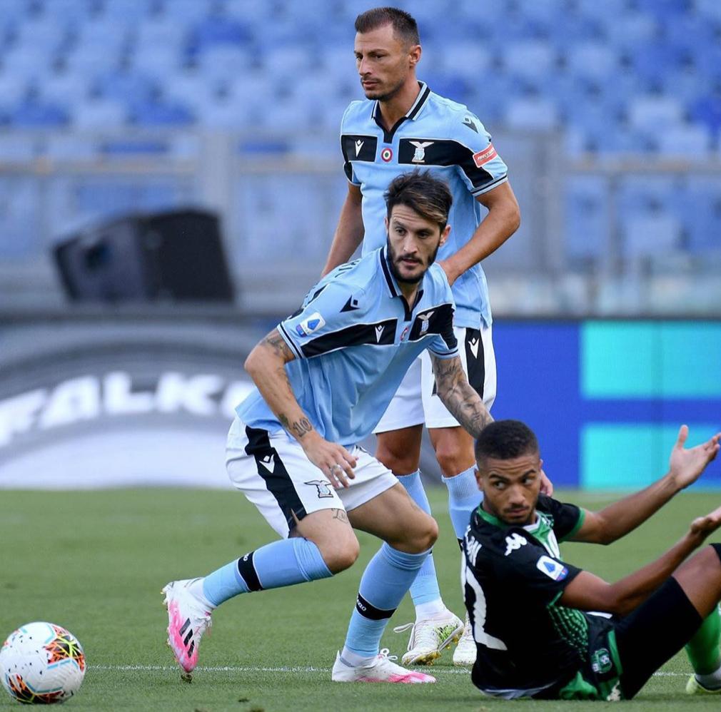 Luis Alberto and Stefan Radu During Lazio vs Sassuolo, Source- Official S.S. Lazio