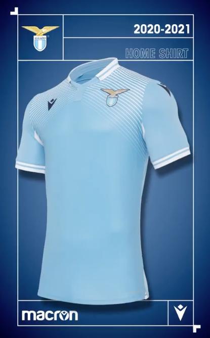S.S. Lazio 2020/21 Home Kit, Source- Official S.S. Lazio