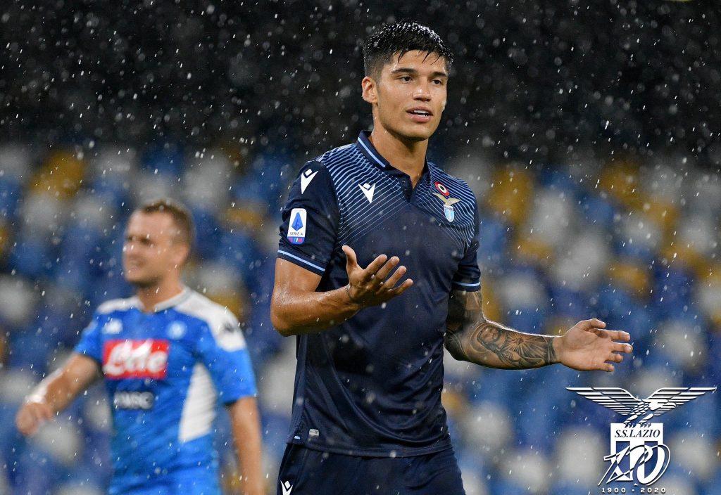 2019/20 Serie A - Matchday 38 - Napoli vs Lazio - Joaquin Correa, Source- Official S.S. Lazio