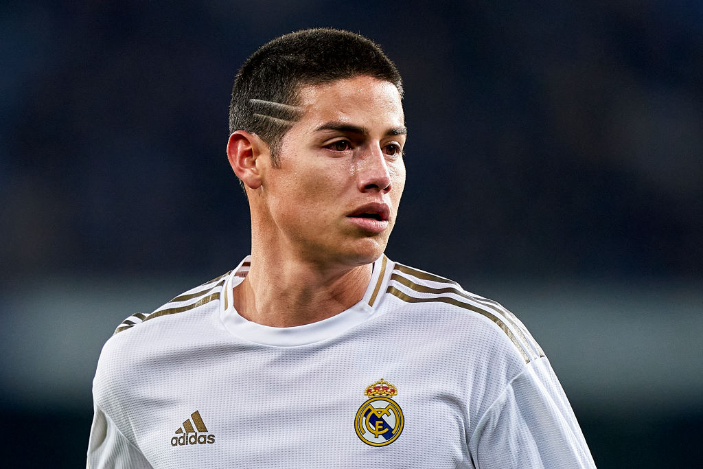 James Rodríguez / Real Madrid, Source- Quality Sport Images & Getty Images