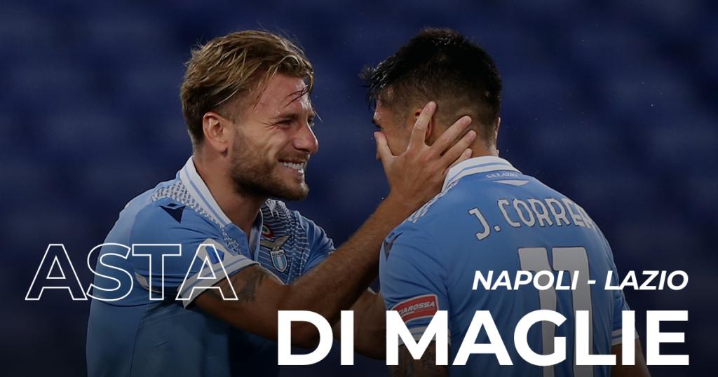 Napoli vs Lazio, MatchWornShirt