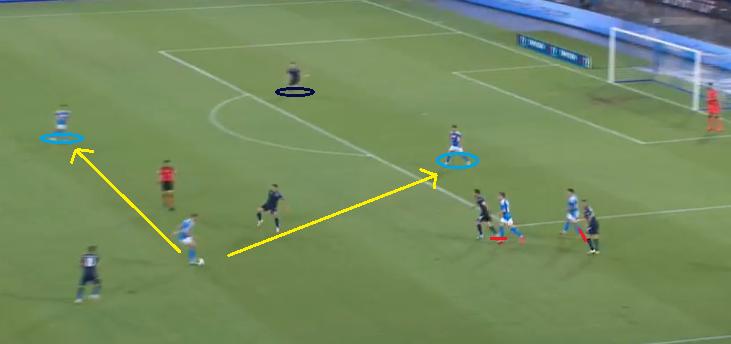 Napoli Committing to the Press 1.3 - 2019/20 Serie A - Matchday 38 - Napoli Vs Lazio, Source - Premier Sports