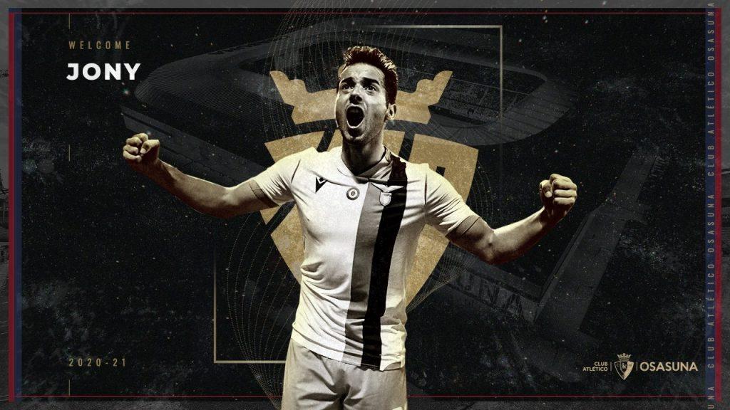 Jony / Club Atlético Osasuna