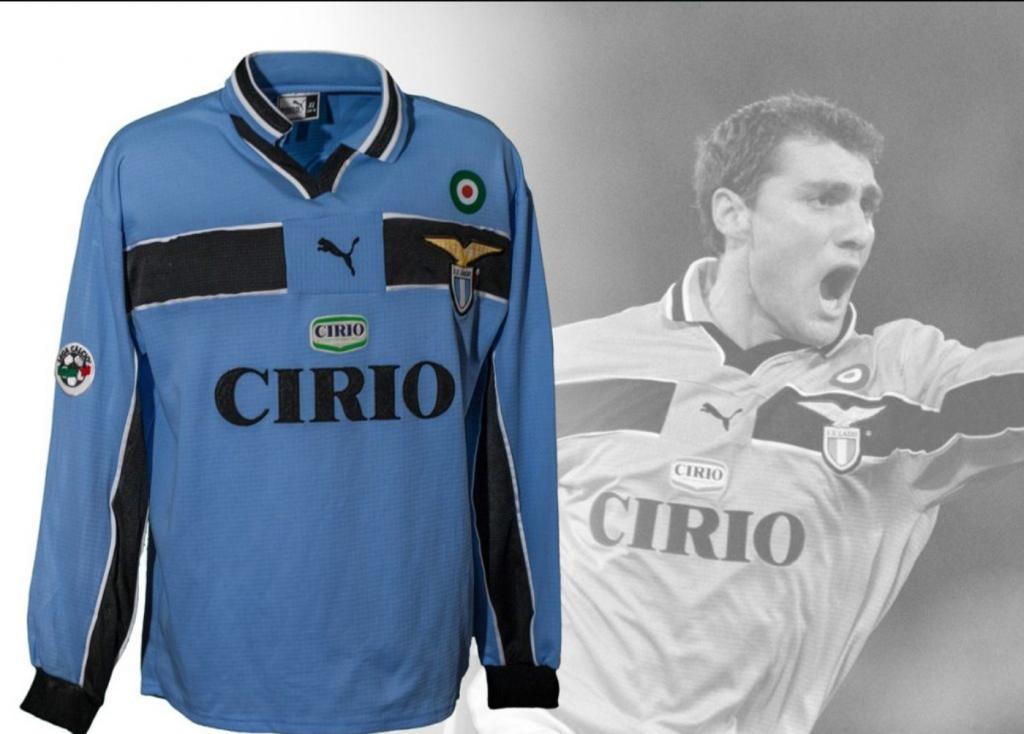 S.S. Lazio 1998/99 Home Kit, Source- S.S. Lazio Museum