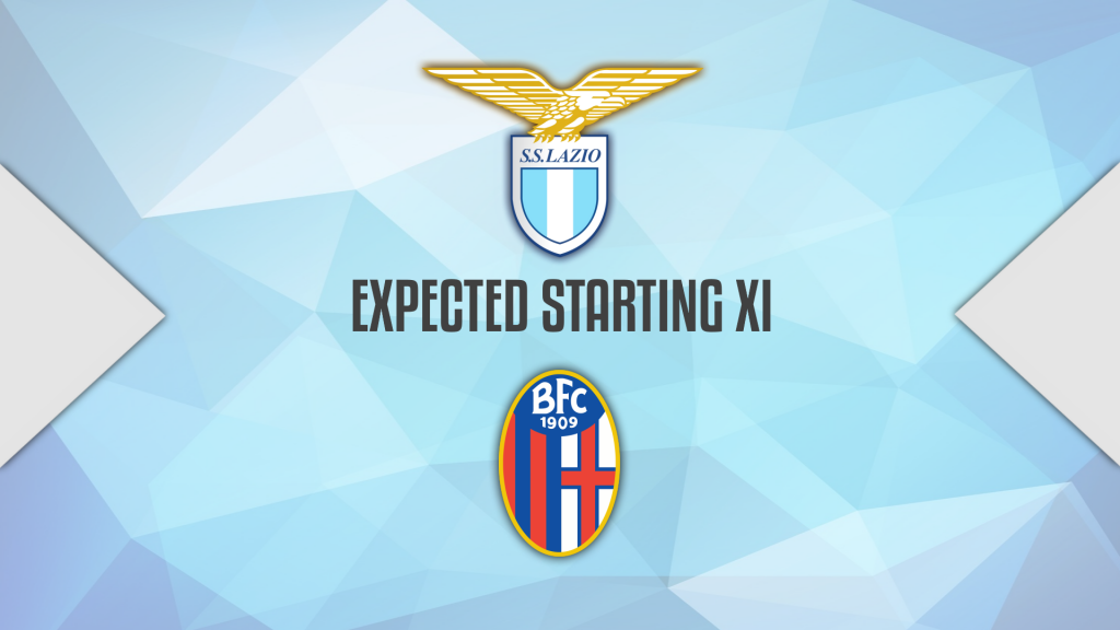 2020/21 Serie A, Lazio vs Bologna: Expected Starting Lineups